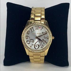 Betsey Johnson Gold Watch